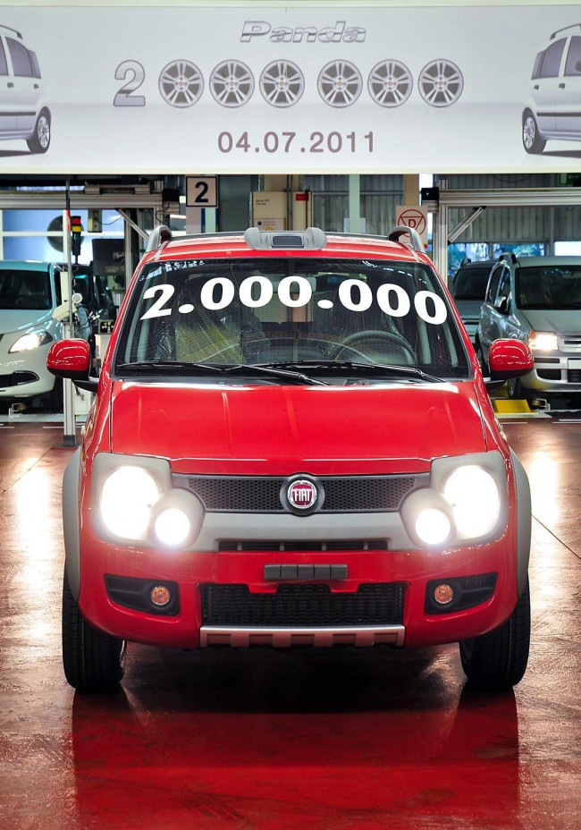 Fiat's Tychy Factory Produces 2,000,000th Panda