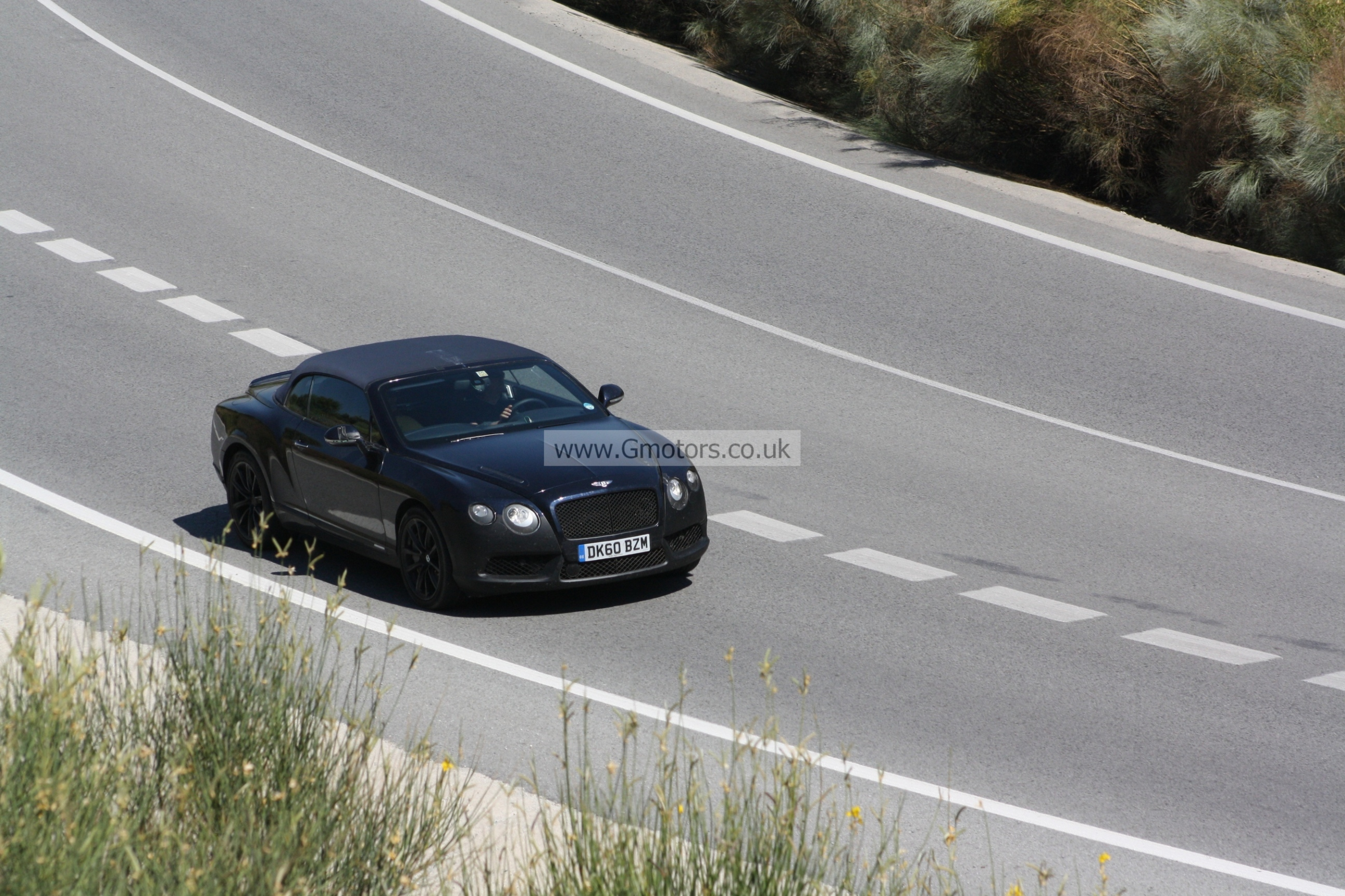 2012 Bentley Continental GTC Speed Twin Turbo V8