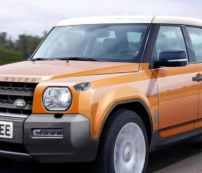2015 Land Rover Defender rendering