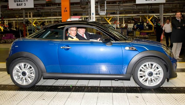First MINI Coupé Rolls Off The Production Line At Plant Oxford