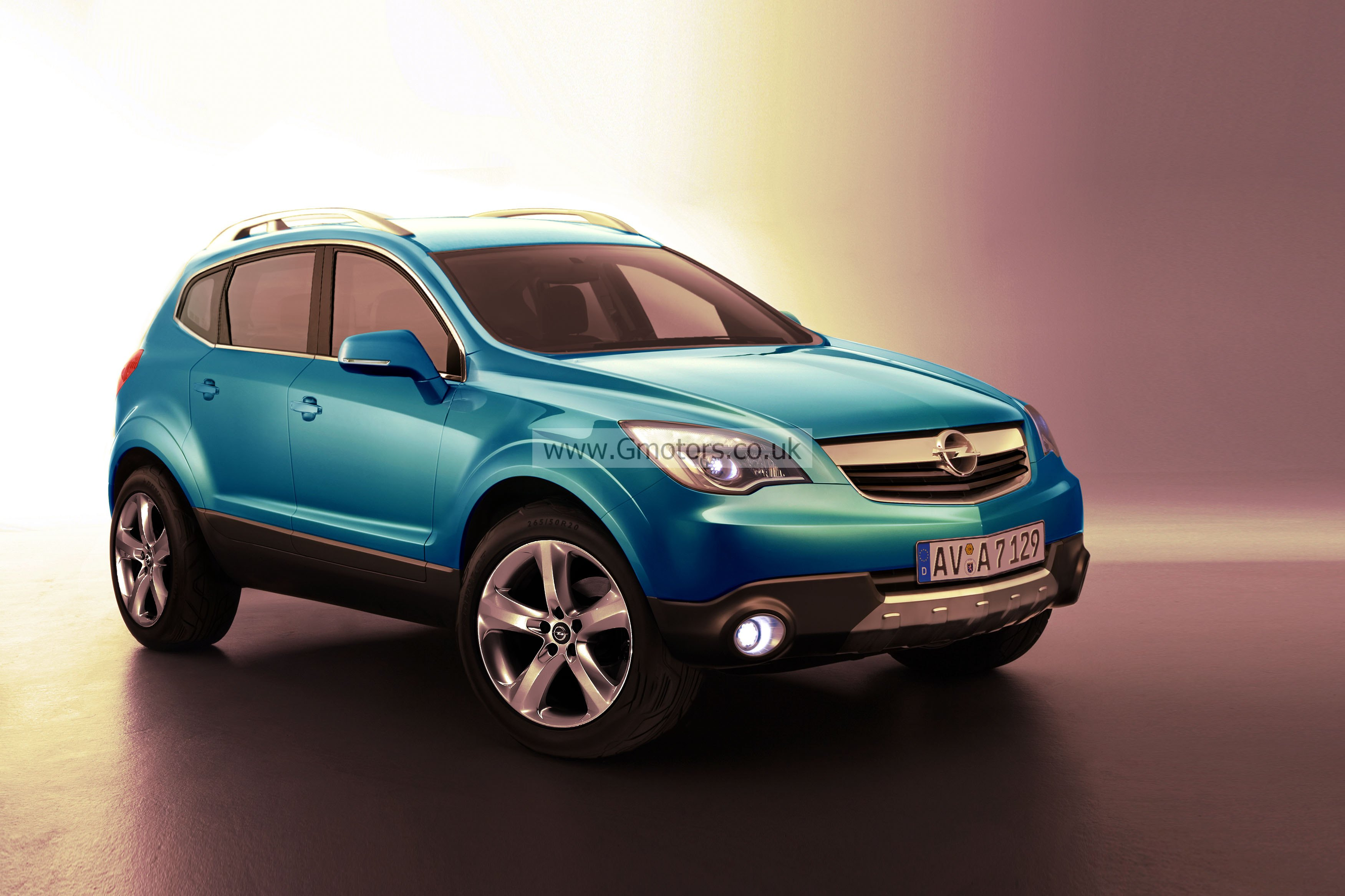2012 vauxhall corsa suv rendering and spy shots. Black Bedroom Furniture Sets. Home Design Ideas