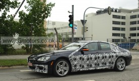 2012 BMW 6-Series Gran Coupe Spotted With M-Sport Package