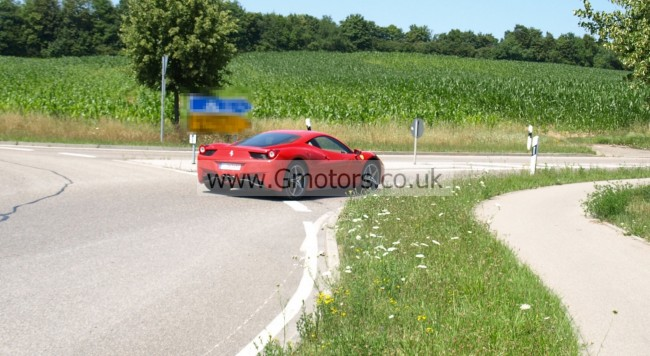 Ferrari 458 Scuderia Stradale Caught On The Road Spy Shots