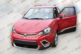 MG3 'Streetwise' X-Cross Spotted Production Ready In China