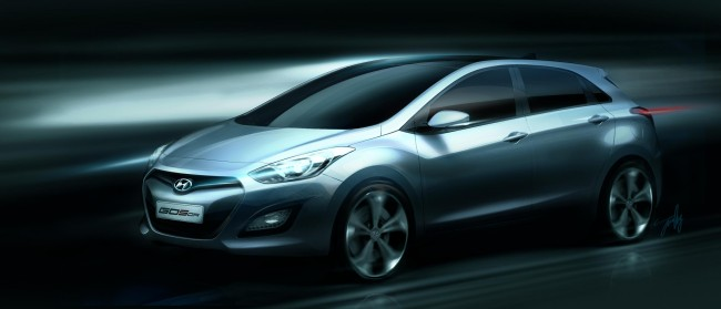 Hyundai Releases Rendering Of Second Generation i30