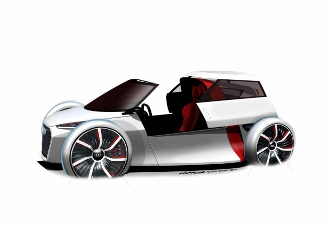 Audi Shocks With New Urban Concept EV Buggy
