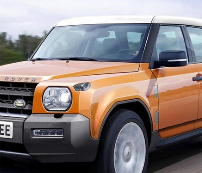 2015 Land Rover Defender rendered speculation