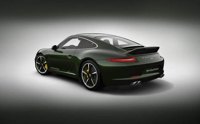 Porsche Introduces 911 Club Coupe – Limited To Just 13 Units