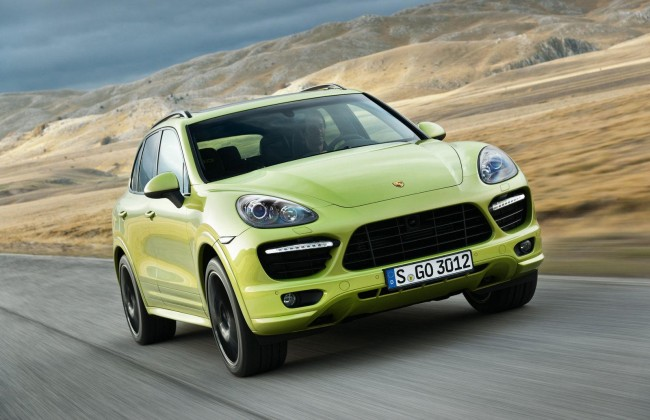 New 2013 Porsche Cayenne GTS &#8211; Videos &amp; Photos