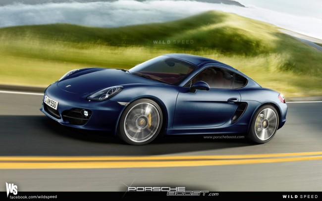 2013 Porsche Cayman Spy Video And Speculative Renderings