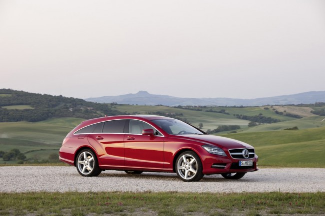 Mercedes-Benz CLS Shooting Brake Revealed, Sales Start In November