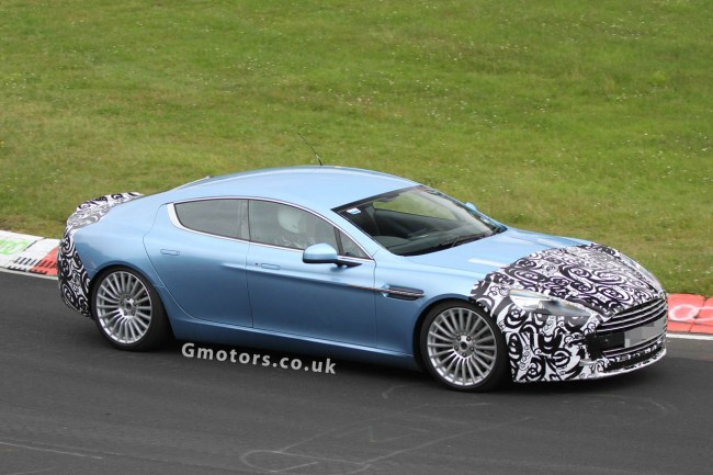 Aston Martin Rapide S Spied At The Nrburgring