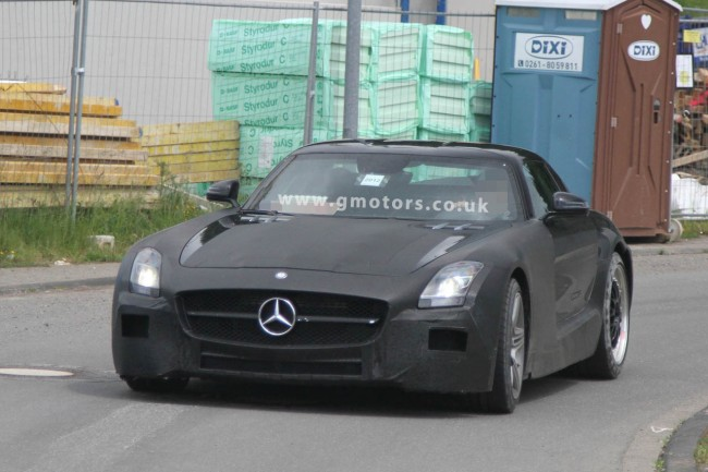 Mercedes SLS AMG Black Series Spy Shots (UPDATED)