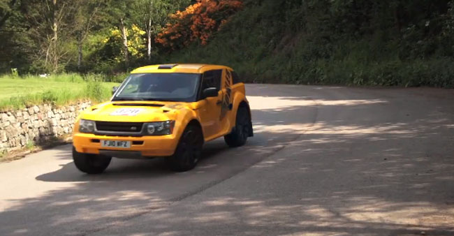 Land Rover-based Bowler EXR-S Driven By Chris Harris [VIDEO]