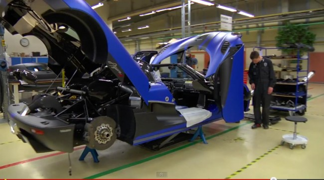 Drive Channel Visits Koenigsegg Factory In Sweden [VIDEO]