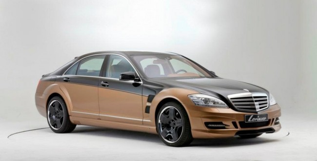 Lorinser S70 6.0 V12 Bi-Turbo Based On Mercedes S600 [video]
