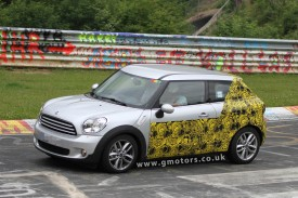 MINI Paceman (Countryman Coupe) Spied Testing At The Nürburgring