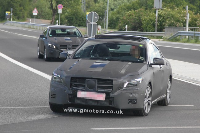 Mercedes CLA Spy Shots