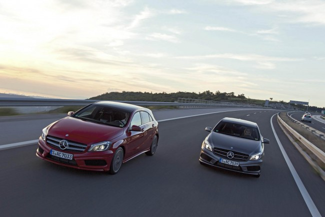 New Mercedes A-Class Priced From £18,945 – Market Launch In December