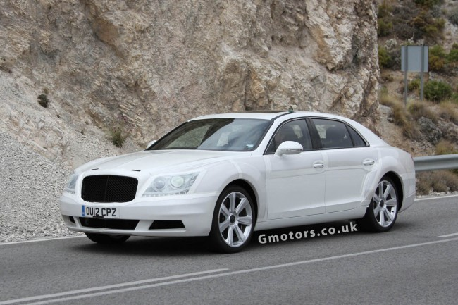 2014 Bentley Continental Flying Spur Prototype Spy Shots