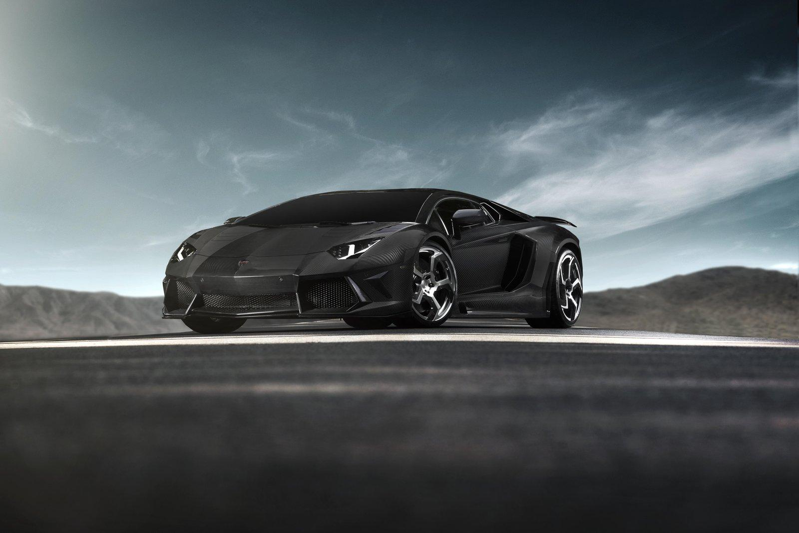 Mansory Carbonado Black Diamond Based On Lamborghini Aventador LP700-4