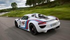 Porsche 918 Spyder in Martini design