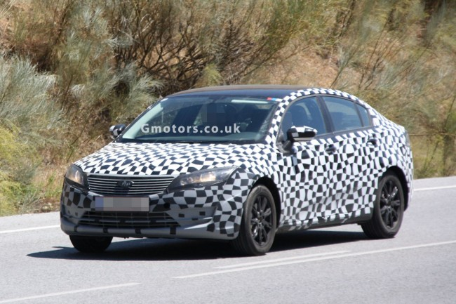 2013 Qoros Saloon Spied Testing In Spain