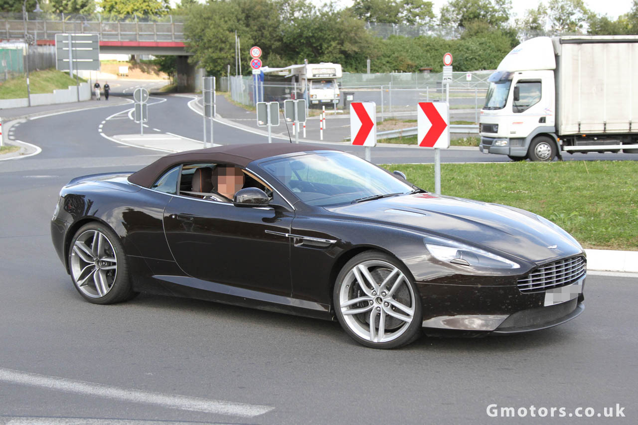 New 2013 Aston Martin DB9 Volante