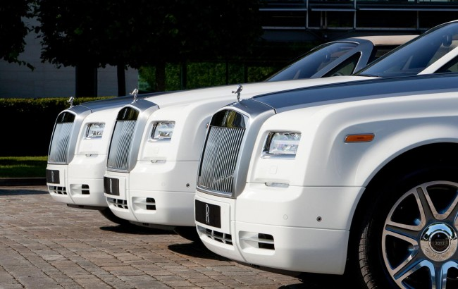 Rolls-Royce Unveils Three Bespoke Phantom Drophead Coupes Specially Created For The Olympics