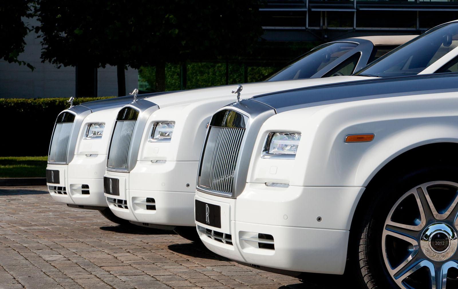 Rolls-Royce Phantom Drophead Coupes for 2012 Summer Olympic Games