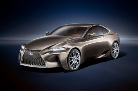Lexus LF-CC Concept Revealed [VIDEO]