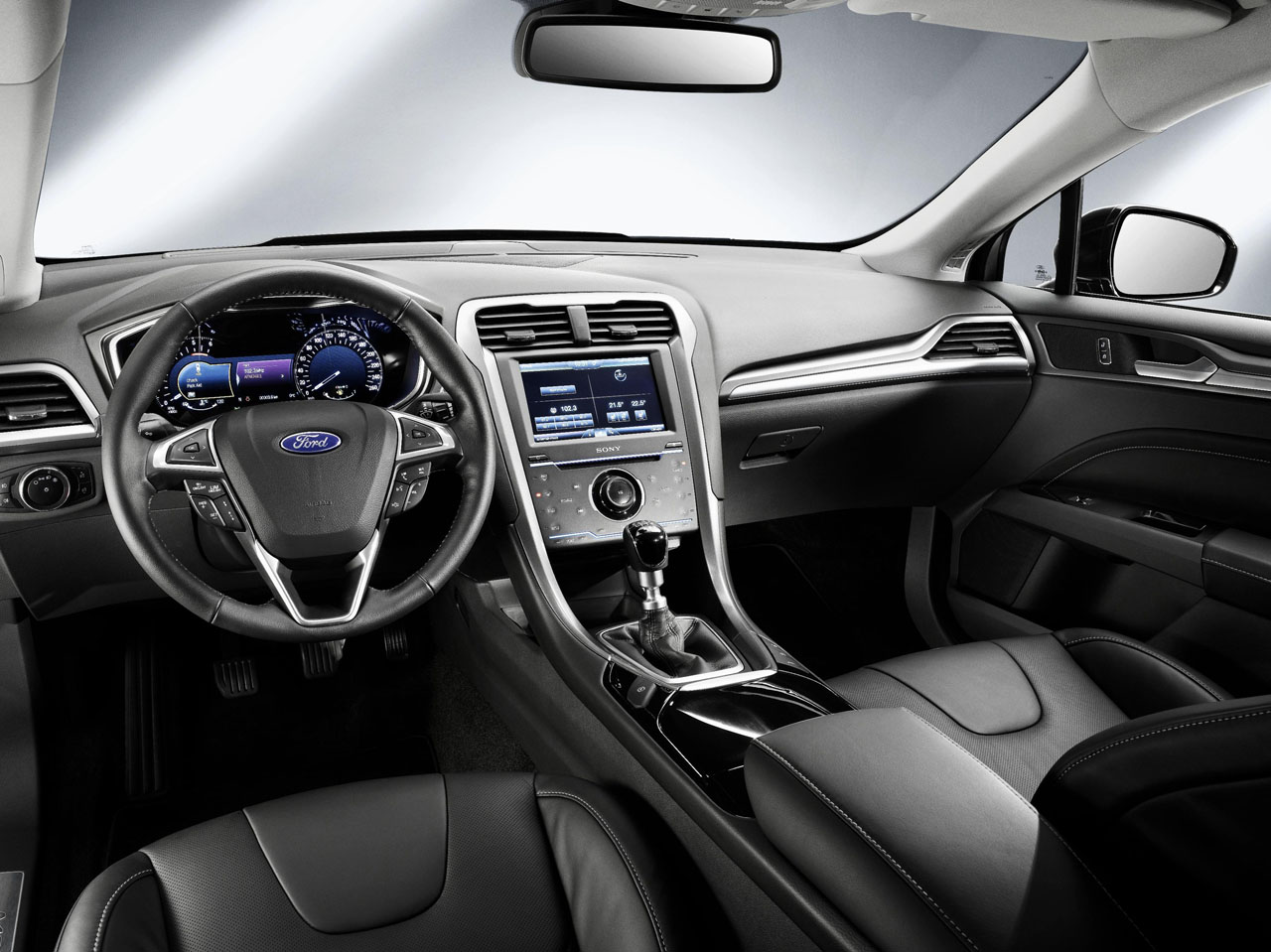 New Ford Mondeo interior