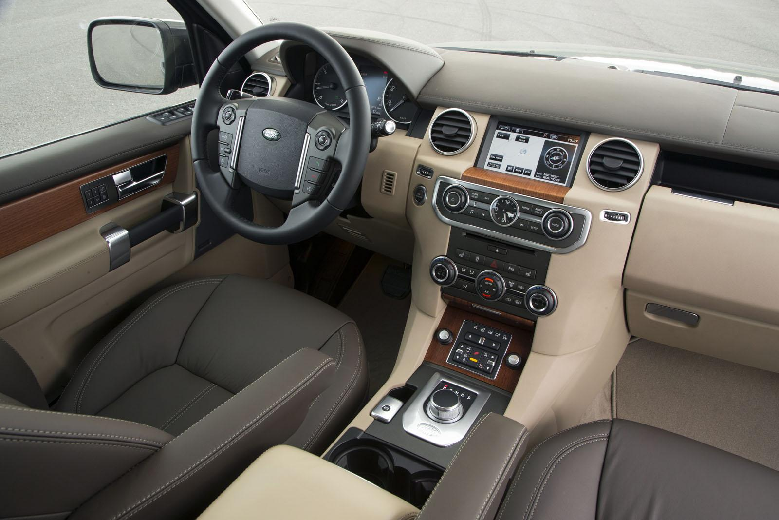 2013 land rover discovery 4 interior