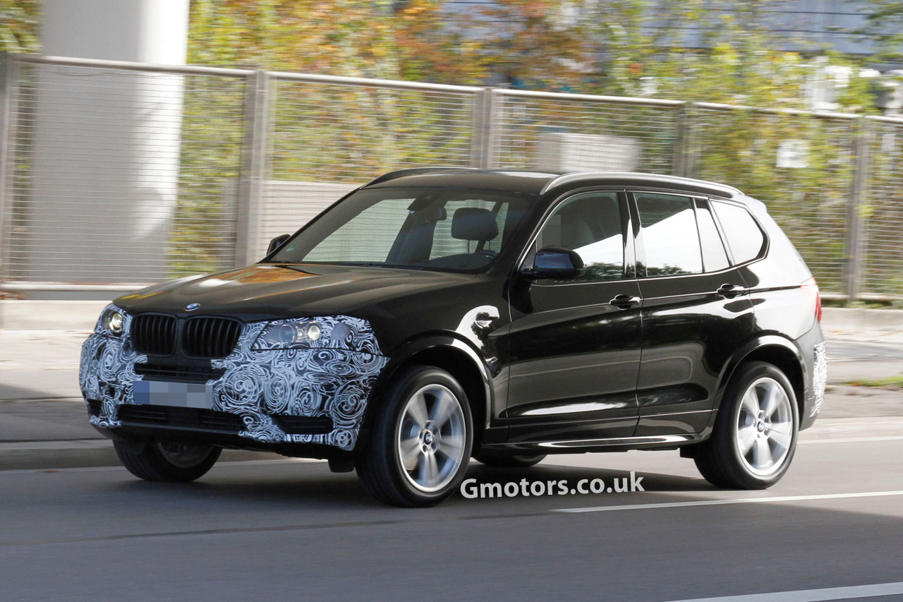2014 bmw x3 facelift spied for the first time. Black Bedroom Furniture Sets. Home Design Ideas