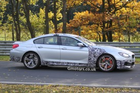 2013 BMW M6 Gran Coupe Caught With Glowing Front Brakes