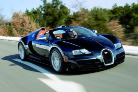 Bugatti Veyron 16.4 Grand Sport Vitesse in Action [VIDEO]