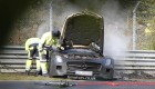 Mercedes SLS AMG Black Series accident
