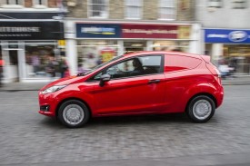 New Ford Fiesta Van Priced From £10,800 [VIDEO]