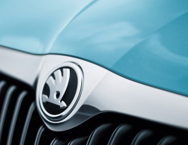 Škoda Fabia and Roomster Get the New Logo