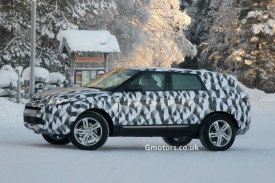 2015 Land Rover Freelander 3 Prototype Spied Again