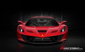 Ferrari Enzo (F70/F150) Successor Front Rendered