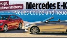 New Mercedes-Benz E-Class Coupe and Cabriolet