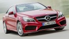 New Mercedes-Benz E-Class Coupe front