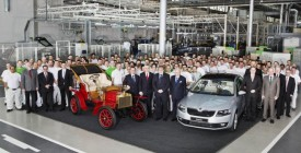 15th Million Škoda Rolls Off the Assembly Line