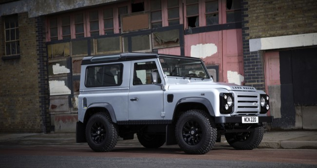 2011 Land Rover Defender X-Tech Limited Revealed