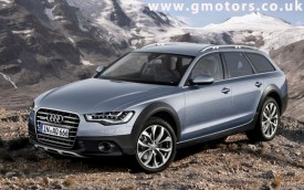 2012 Audi A6 Allroad Quattro Rendered