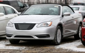 2012 Chrysler 200 Convertible Spotted With No Disguise