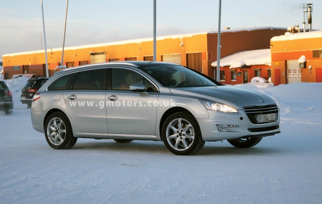 2012 Peugeot 508 SW Allroad / Outdoor – First Spy Photos