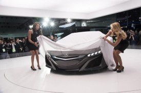 Updated Acura NSX Concept Debuts at the Detroit Auto Show [VIDEO]