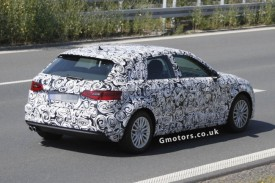 New 2013 Audi A3 Sportback Spy Shots